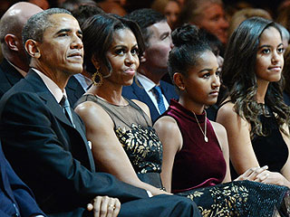 Michelle Obama on Sasha and Malia: My Husband and I Are 'the Last People Our Kids Want to Be with'
