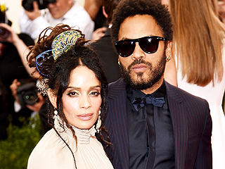 Exes Lenny Kravitz and Lisa Bonet Attend Met Gala Together with Daughter Zoë