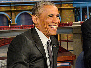 Barack Obama and David Letterman Plan Their Retirement Together on Late Show
