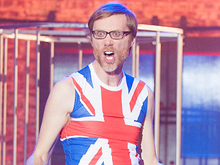 WATCH: Stephen Merchant Gets 'Dirrty' on Lip Sync Battle