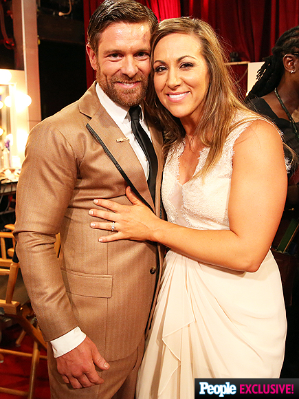 Dancing with the Stars: Noah Galloway Proposes to Jamie Boyd
