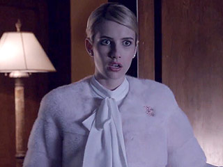 VIDEO: Emma Roberts Rules Her Sorority in New Scream Queens Scenes