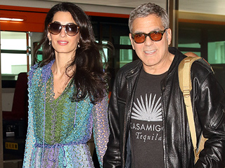 George and Amal Can't Hide Their Smiles While Arriving Hand-in-hand in Tokyo