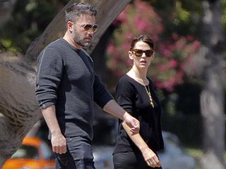 Ben Affleck & Jennifer Garner Step Out for Lunch in Los Angeles (Photo)