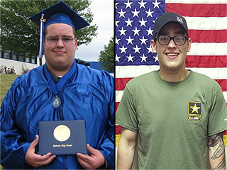 Man Loses 180 Pounds in Order to Join the Army: 'I Wanted to Be Like My Dad'
