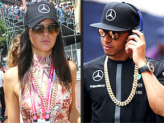 Kendall Jenner Linked to Racing Driver Lewis Hamilton After Wearing His Gold Chain