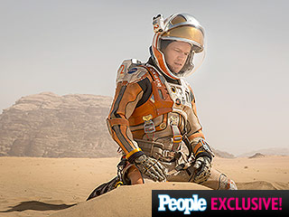 First Look! Matt Damon is Lost in Space in Ridley Scott's The Martian