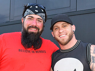 Brantley Gilbert Takes a Motorcycle Trip with Combat Veterans – See the Pics