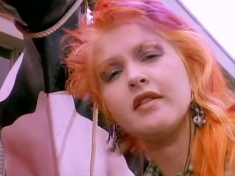 Cyndi Lauper Songs Goonies Cyndi Lauper in The Goonies '