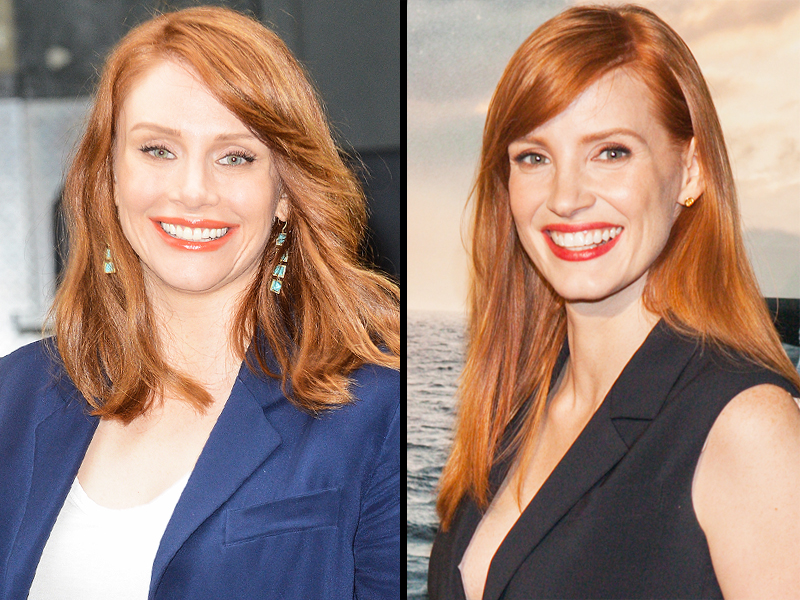 Jessica Chastain looks like