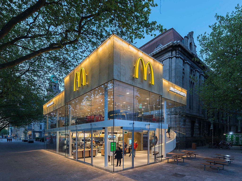 Mcdonald 39 s in rotterdam designed by mei architecture for Architecture firms in netherlands
