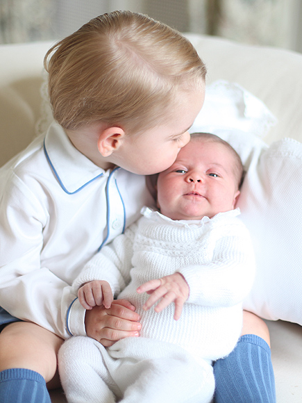 Princess Charlotte and Prince George Portraits: All Photos