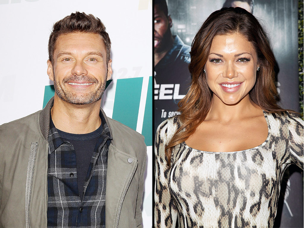 Ryan Seacrest Dating Hilary Cruz