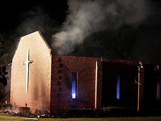 Seventh Black Church Goes Up in Flames Following Charleston Massacre