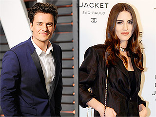 Orlando Bloom Spotted Kissing Brazilian Model Luisa Moraes During Sushi Date