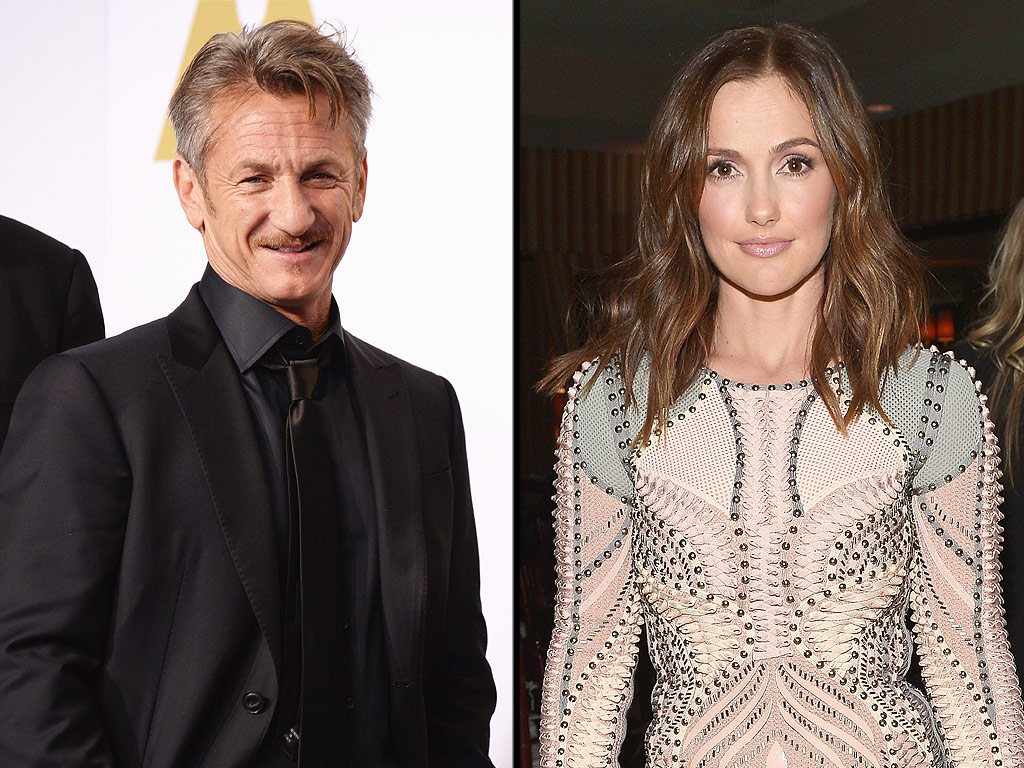 Actress denies dating: Minka Kelly Sean Penn