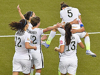 FROM SI: USA Advances to Women's World Cup Soccer Final with 2-0 Win Over Germany