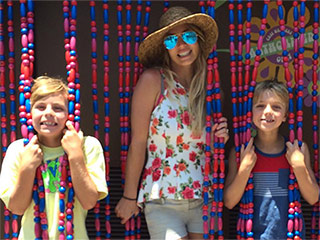 Oops!... She Did It Again: Britney Spears Adorably Recreates Album Cover with Sons in Disneyland