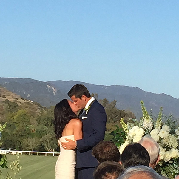 Josh Elliott and Liz Cho: Inside Their Intimate Garden Wedding