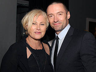'He's Not Allowed to Work with Angelina': Hugh Jackman's Wife Deborra-Lee Furness Jokes About Her Bogus Jolie Ban