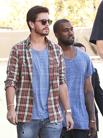 Kanye West Furious at Scott Disick amid Kourtney Kardashian Split