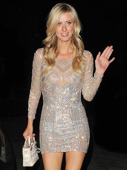 Nicky Hilton Makes a Sparkly Costume Change and Parties Late on Her Wedding Night