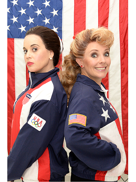 Nancy Kerrigan and Tonya Harding Musical