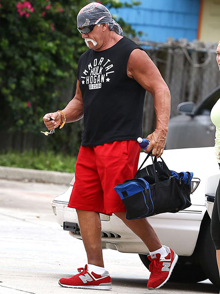 Hulk Hogan After Racist Rant Was Released Online: Photos