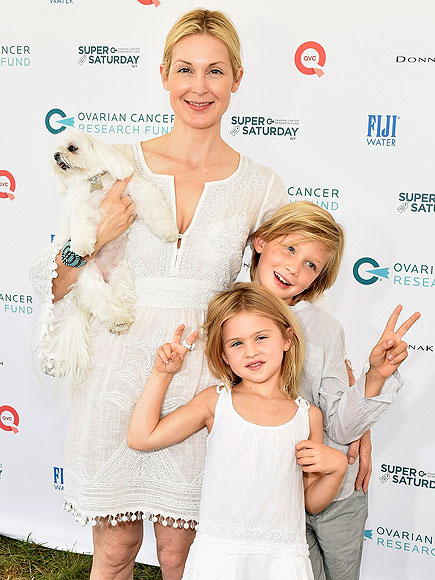 Kelly Rutherford with Her Kids in the Hamptons Amid Custody Battle