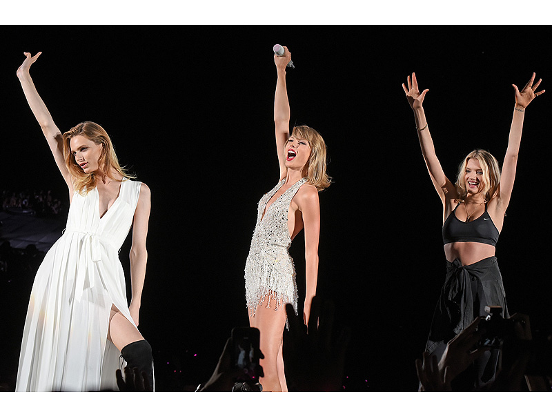 Taylor Swift Expands Squad with Andreja Pejic, Lily Donaldson and Sam Hunt