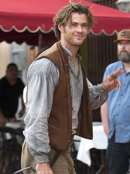Chris Hemsworth's Diet In the Heart of the Sea