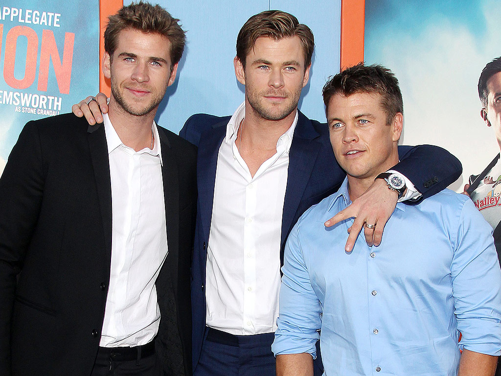Chris Hemsworth Brother Of Liam Hemsworth | Male Models ...