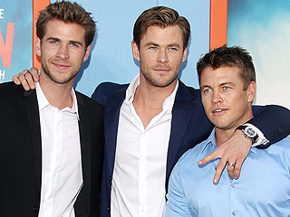 See Liam and Luke Hemsworth Supporting Brother Chris at Vacation Premiere – and Try Not to Drool