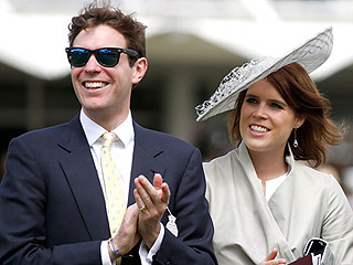 And They're Off! Princess Eugenie and Boyfriend Jack Brooksbank Enjoy a Date at the Races