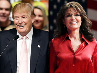 Donald Trump Talks Adding Sarah Palin to His Administration: 'She's a Special Person'