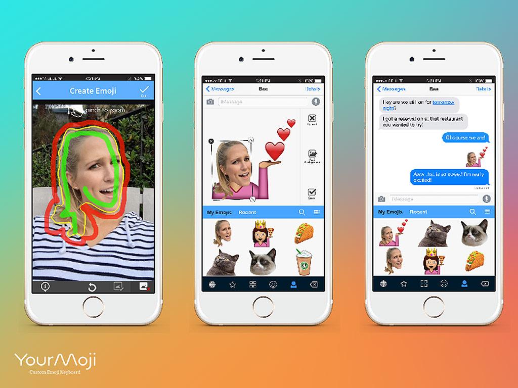 YourMoji App Creates Custom Emojis