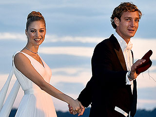Beatrice Borromeo Wears Armani (Twice!) for Round Two of Her Monaco Royal Nuptials