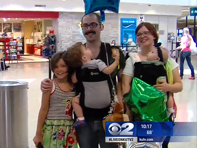 Utah Girl Reunites with Stranger Whose Bone Marrow Donation Saved Her Life