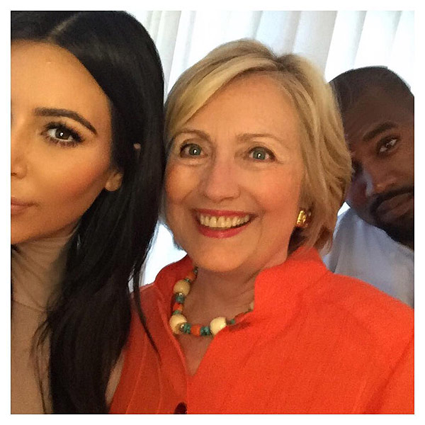 Kim and Kanye Try to Break the Internet Again – with a Hillary Clinton