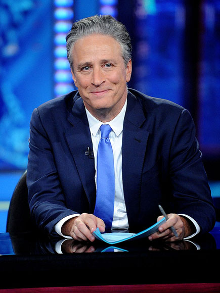 Jon Stewart Signs Off The Daily Show for the Last Time