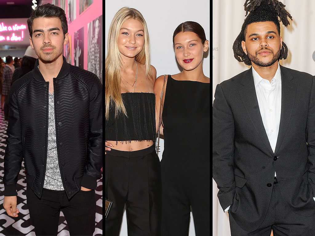 Double Date Night! Gigi Hadid and Joe Jonas Enjoy an Evening Out with Sister Bella and The Weeknd