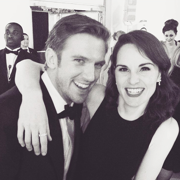 Downton Abbey's Michelle Dockery and Dan Stevens Reunite