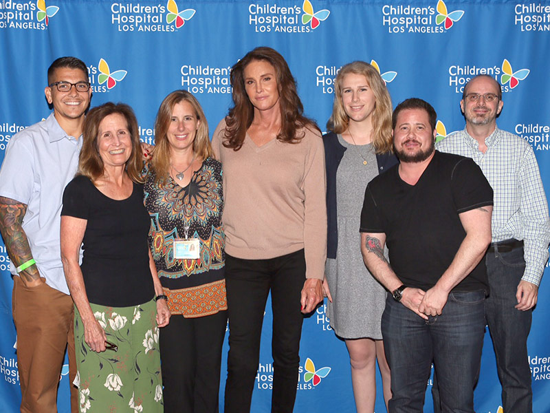 Caitlyn Jenner, Chaz Bono Meet with Gender Diverse Kids at Children's Hospital