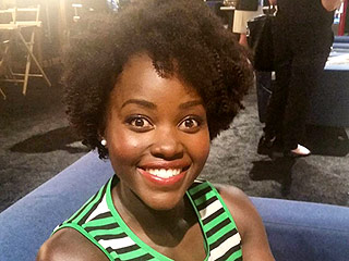 Lupita Nyong'o Debuts New Curly Hairdo at Disney's D23 Expo