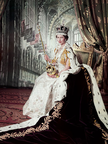 Queen Elizabeth S Coronation Gown People Com