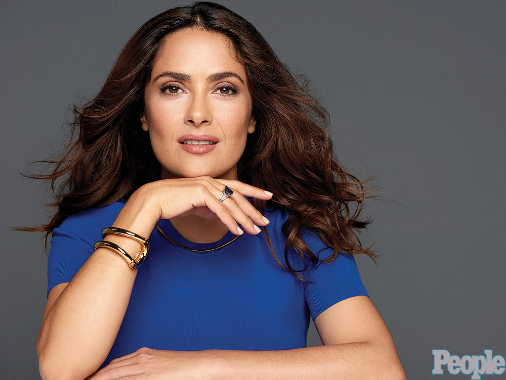 Salma Hayek Talks Daughter Valentina, Having a Baby Later in Life ...