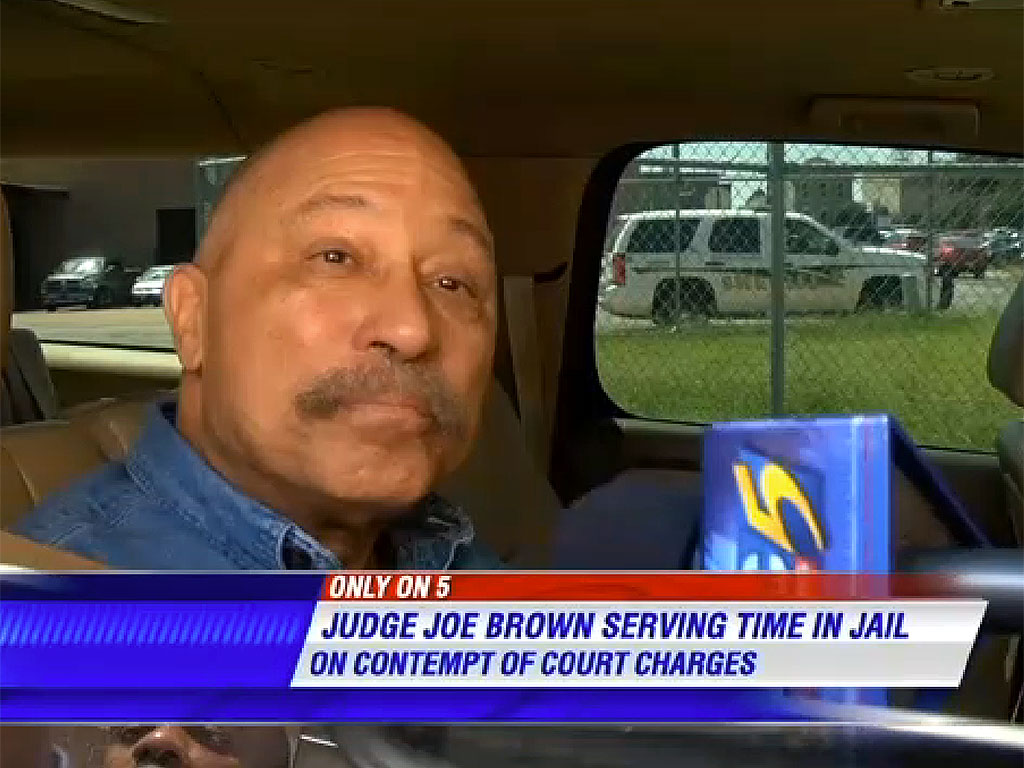 Judge Joe Brown Released from Jail in Tennessee