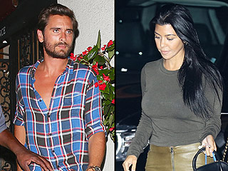 Scott Disick Compliments 'Hot Mama' Kourtney Kardashian as a Source Says She Wants to Move On