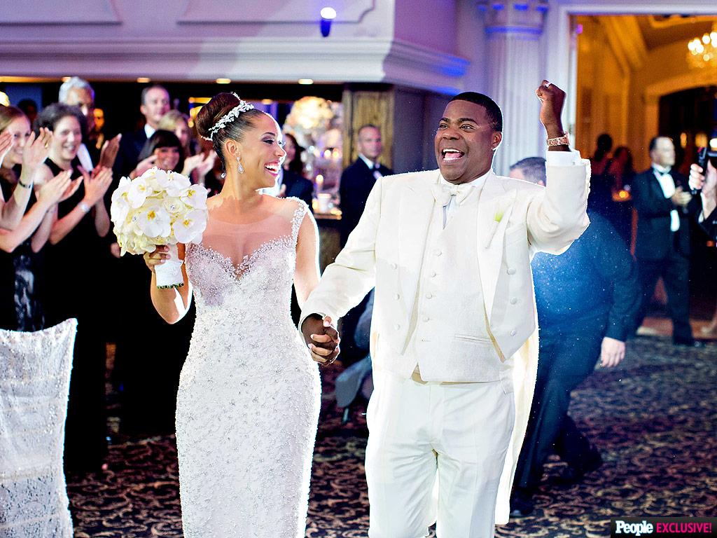 Tracy Morgan and Megan Wollover's Emotional Wedding: 'She Is My Rock'