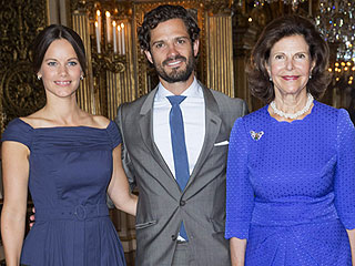 Prince Carl Philip and Princess Sofia Get Glam to Honor His Stylish Late Aunt